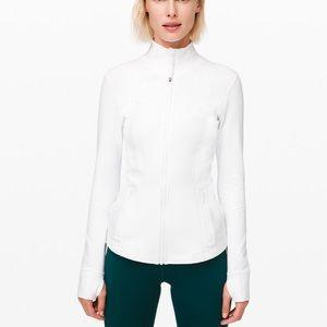 Lululemon define jacket NWT, white, sz 6
